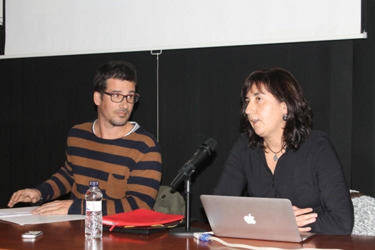Flix: Gerard Mercadé (ACRE), Carme Belarte (ICAC).