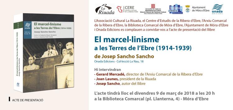 EL MARCEL·LINISME -SAN- (TAR)Mórad'Ebre